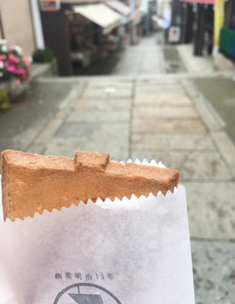 Hard-baked rice cracker