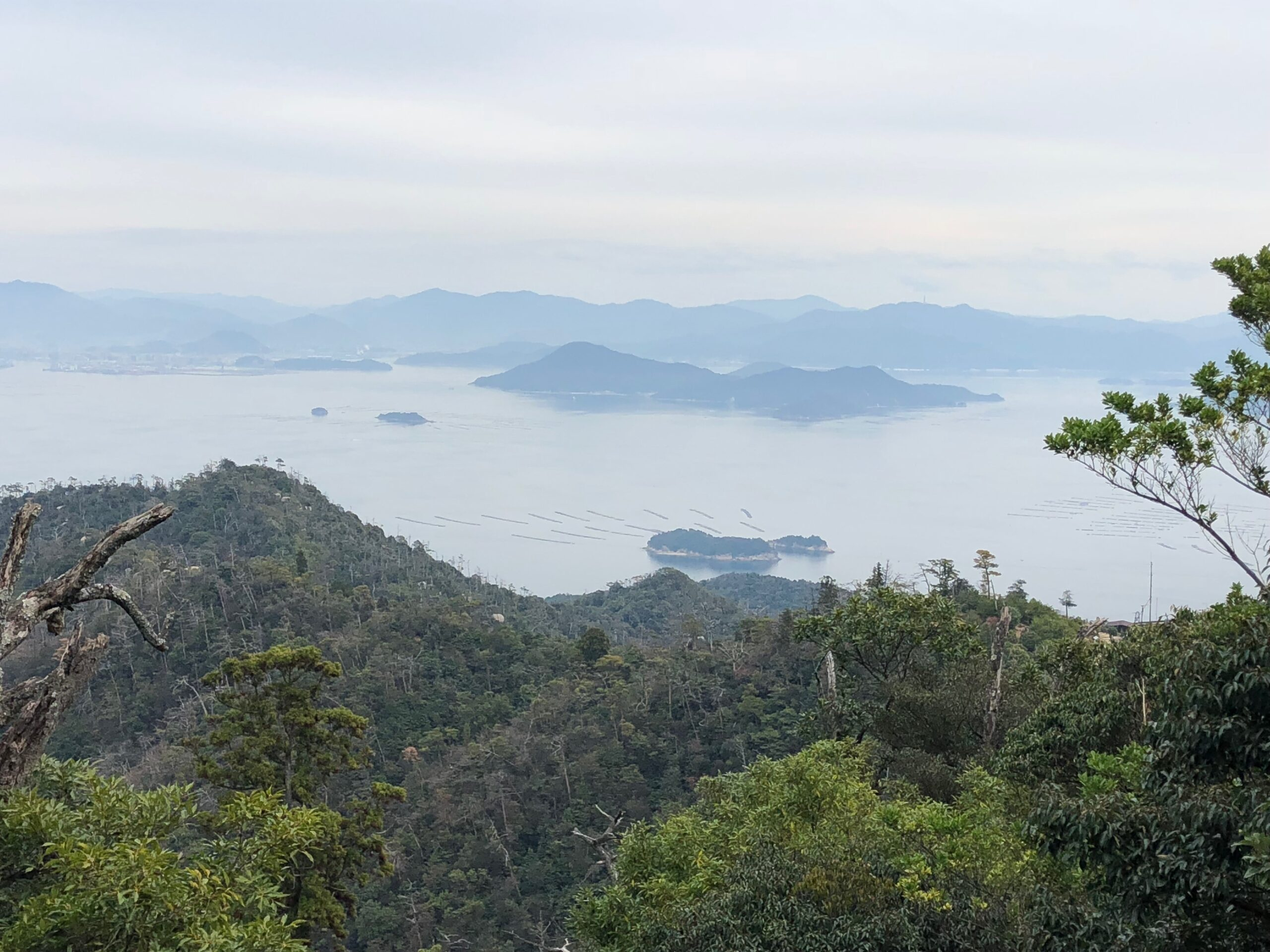 View from Mt. Misen