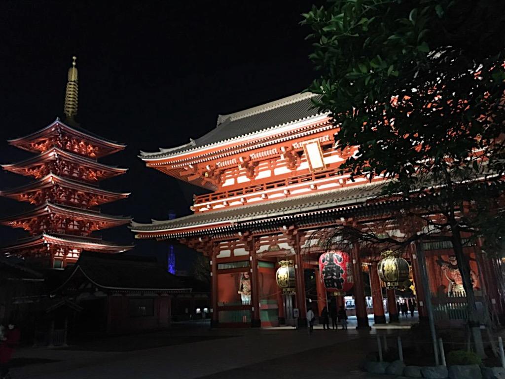 Hozo-mon Gate and Five-storey Pagoda