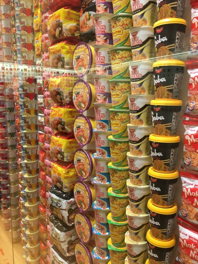 Cup noodles from around the world
