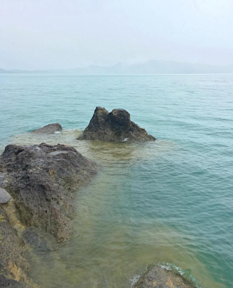 Lake Tazawa Green Color