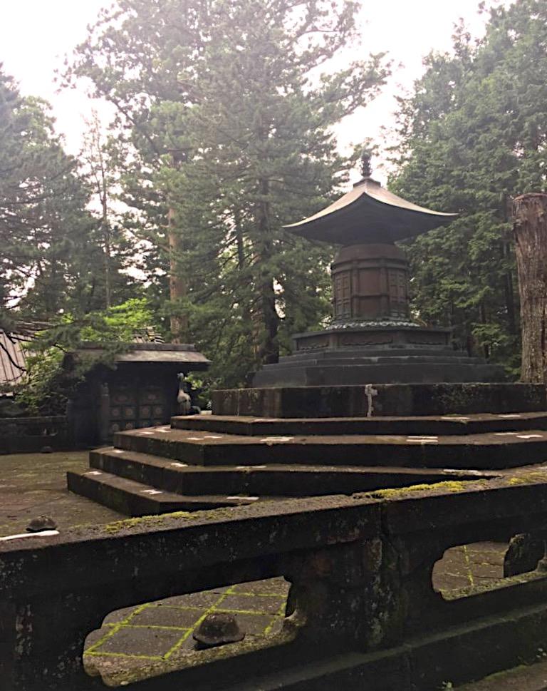 Ieyasu's inner shrine