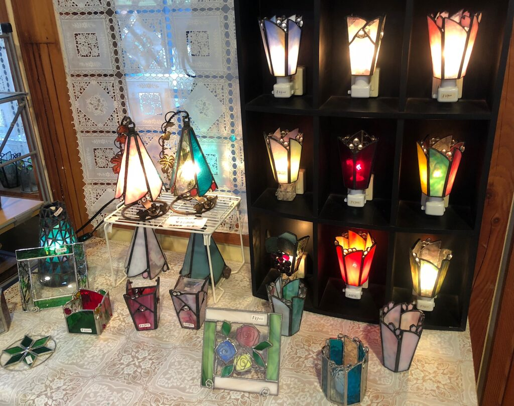 Stained glass lesson
